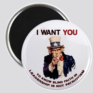 Blind Faith Uncle Sam Magnet
